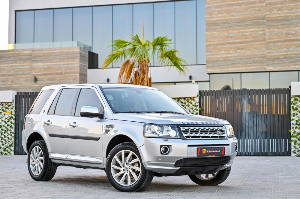 buy pre-owned Land Rover LR2 HSE with warranty
