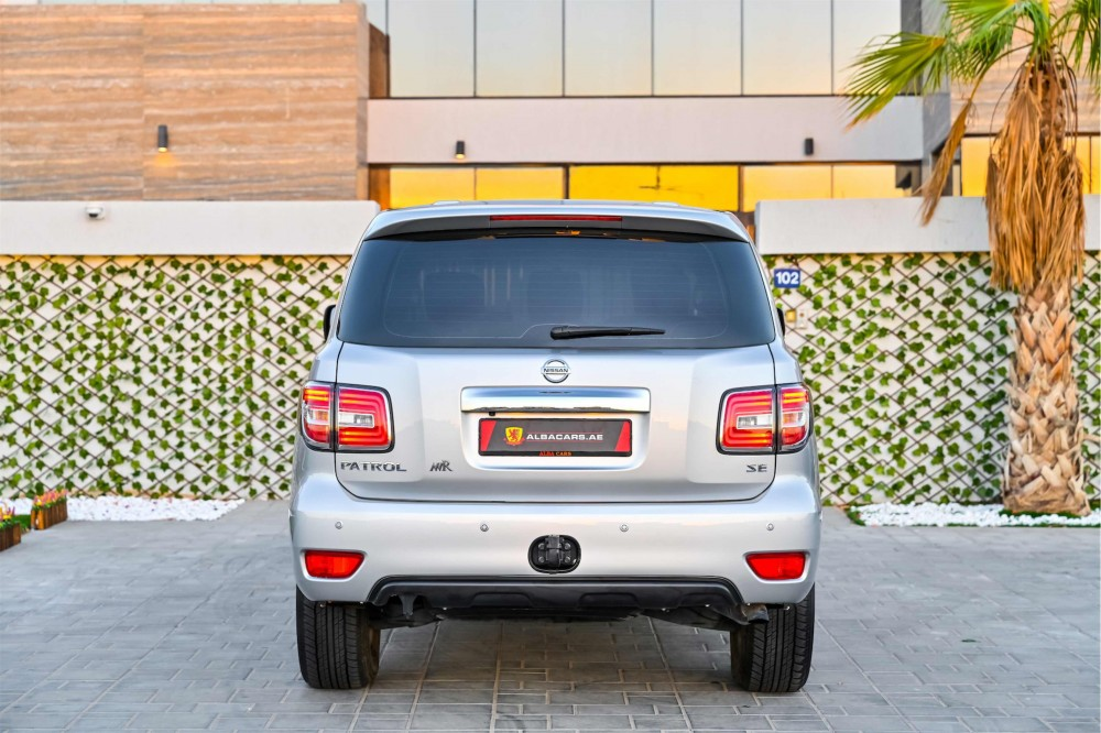 buy pre-owned Nissan Patrol SE with warranty