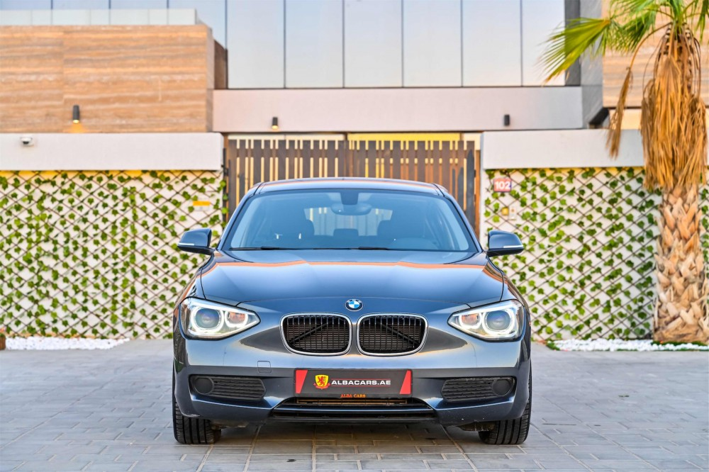 buy certified BMW 1-Series in Dubai