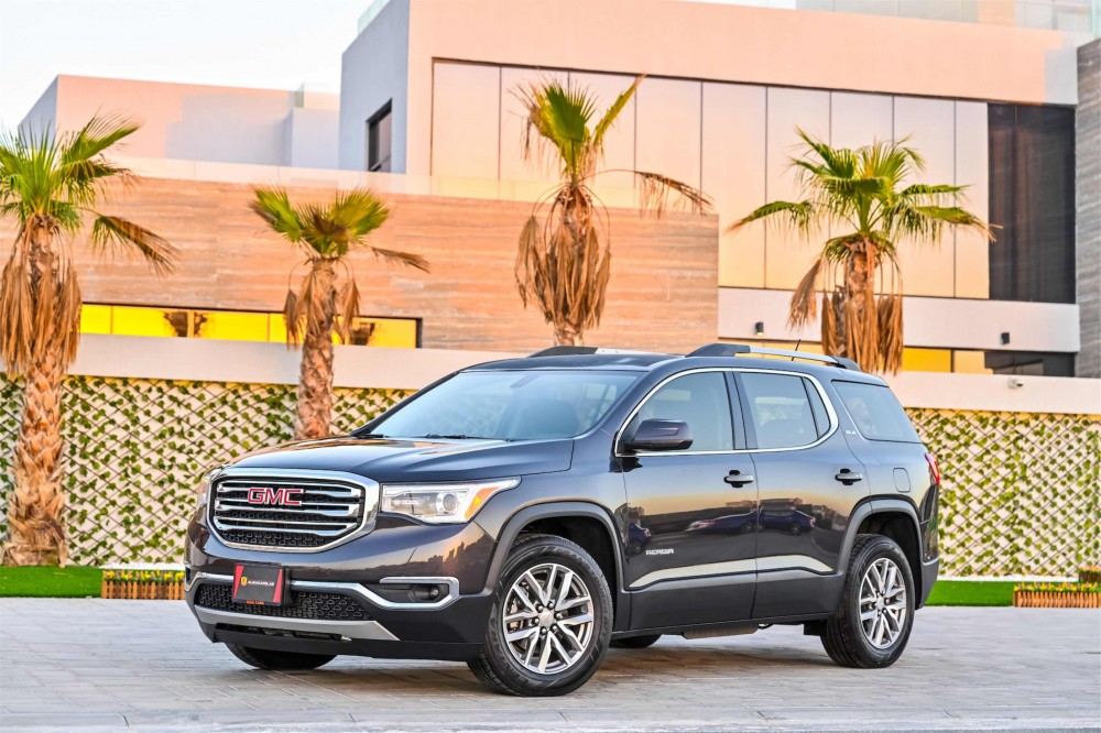 buy slightly used GMC Acadia SLE without downpayment