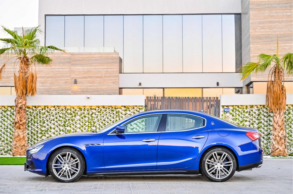 buy used Maserati Ghibli SQ4 Granlusso without downpayment