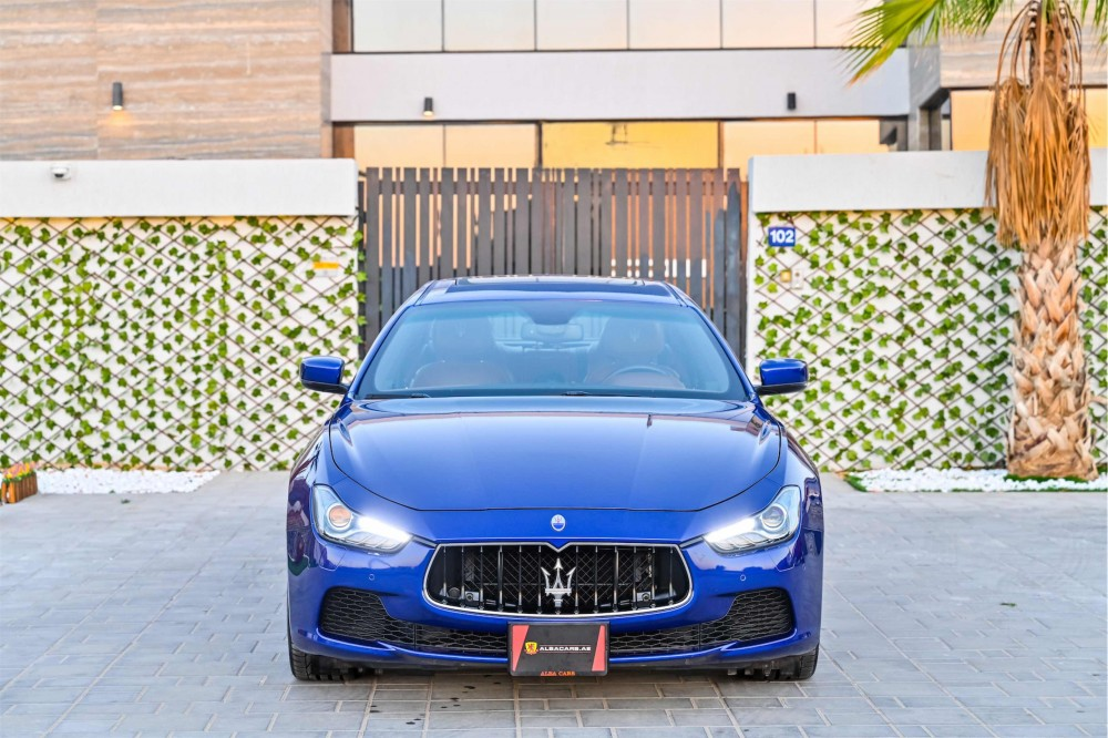 buy second hand Maserati Ghibli SQ4 Granlusso with warranty