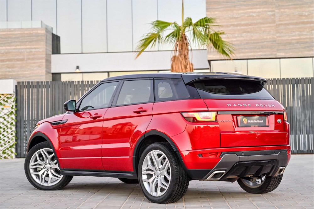buy used Range Rover Evoque HSE Dynamic Plus without downpayment