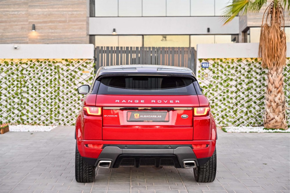 buy used Range Rover Evoque HSE Dynamic Plus with warranty