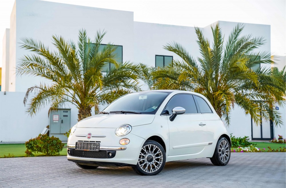 buy slightly used Fiat 500 in UAE
