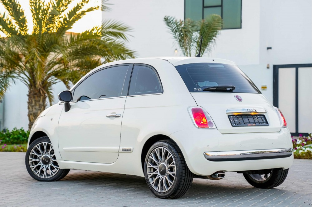 buy second hand Fiat 500 with warranty