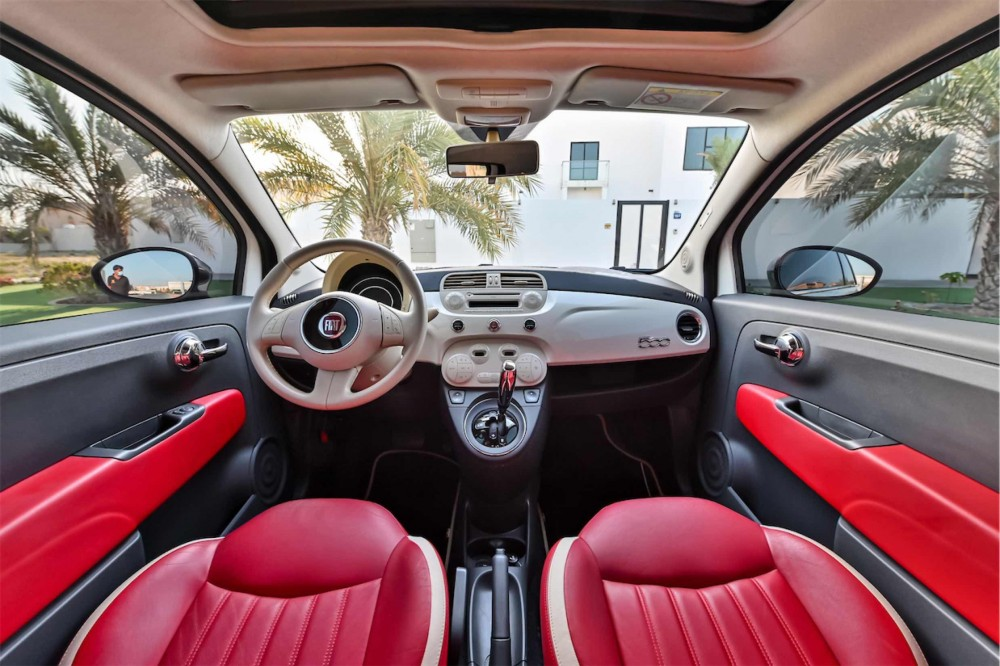 buy pre-owned Fiat 500 in UAE