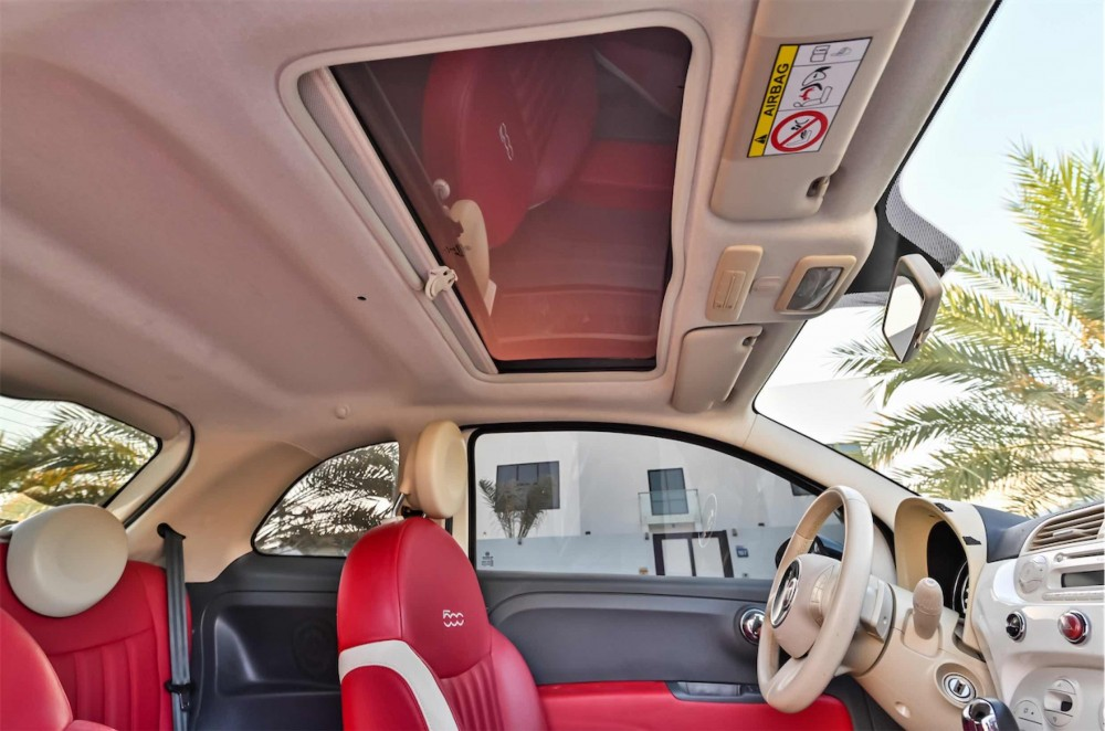 buy pre-owned Fiat 500 in Dubai