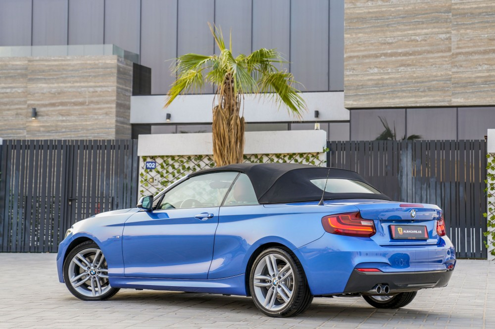 buy used BMW 230i Convertible in UAE