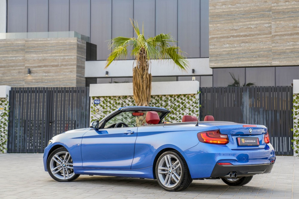 buy pre-owned BMW 230i Convertible in Dubai