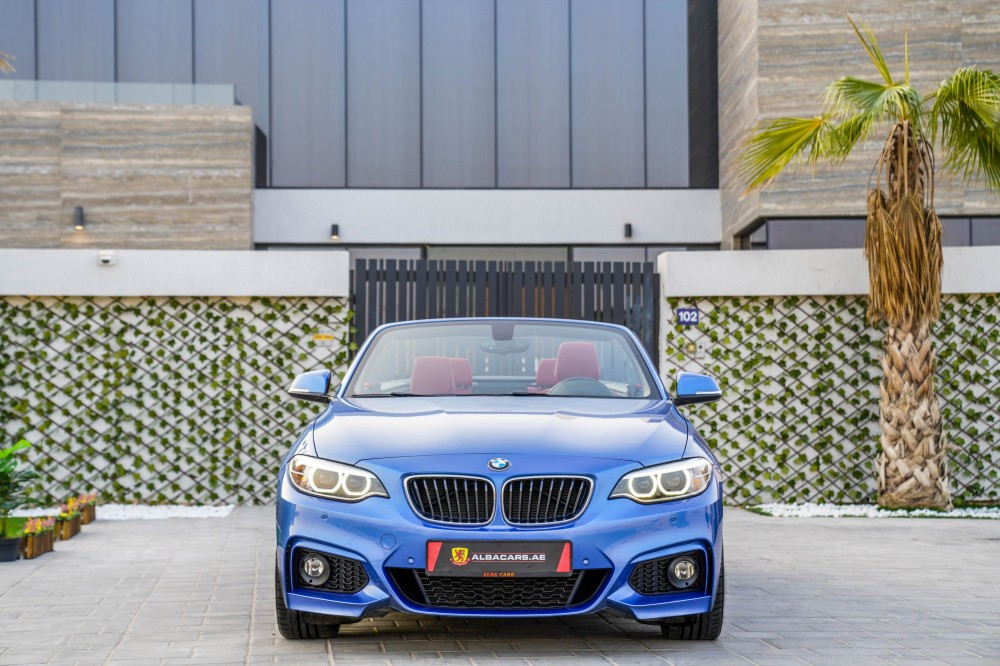 buy slightly used BMW 230i Convertible with warranty