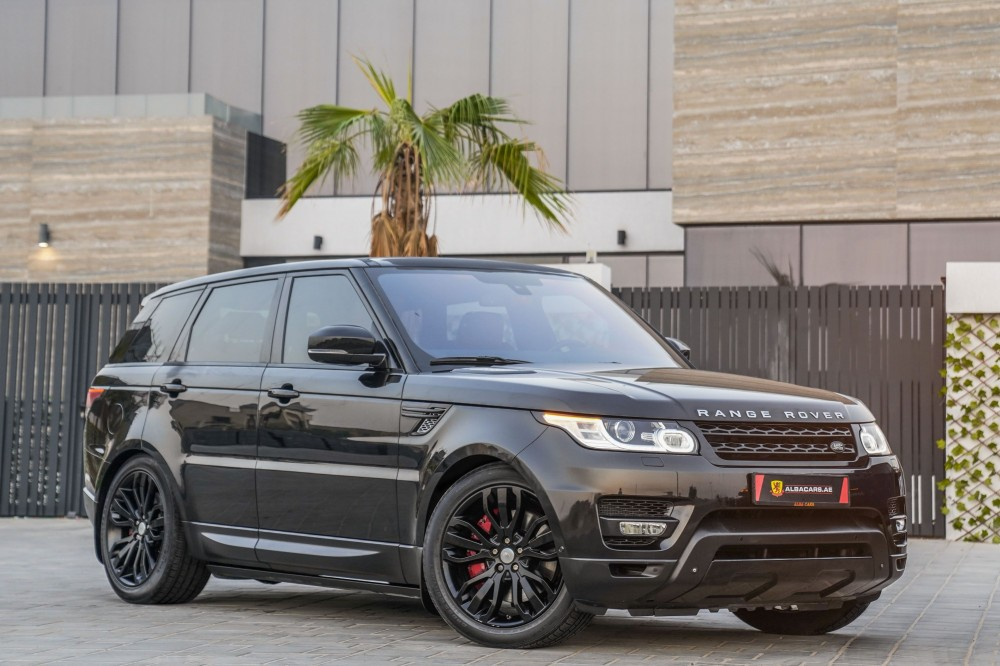 buy slightly used Range Rover Sport HSE Dynamic without downpayment