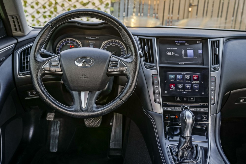 buy pre-owned Infiniti Q50 2.0L without downpayment