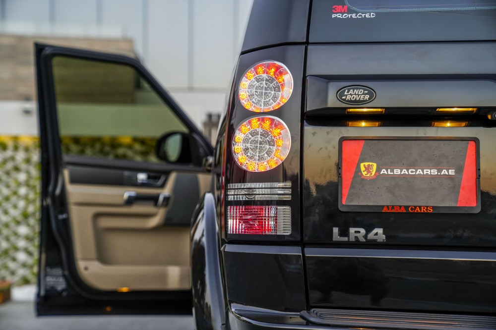 buy approved Land Rover LR4 V6 Supercharged in UAE