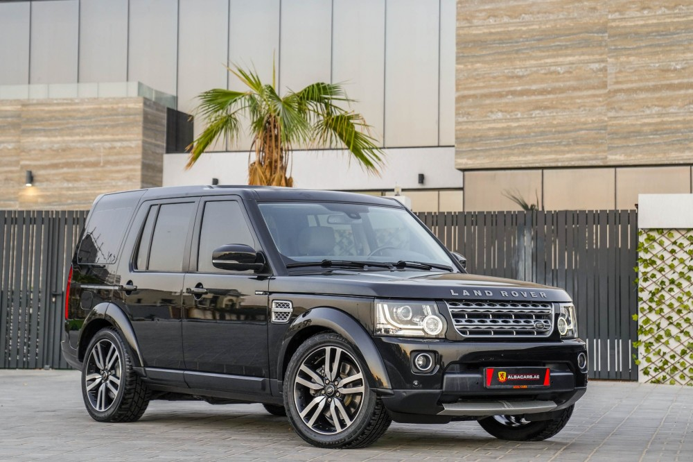 buy second hand Land Rover LR4 V6 Supercharged in Dubai