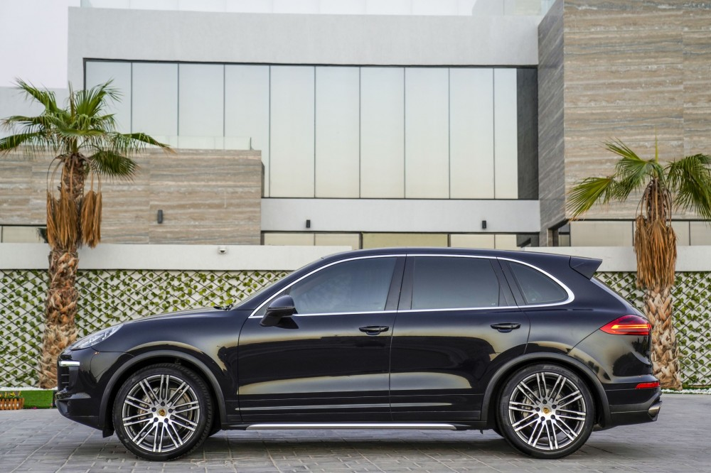 buy second hand Porsche Cayenne S in UAE