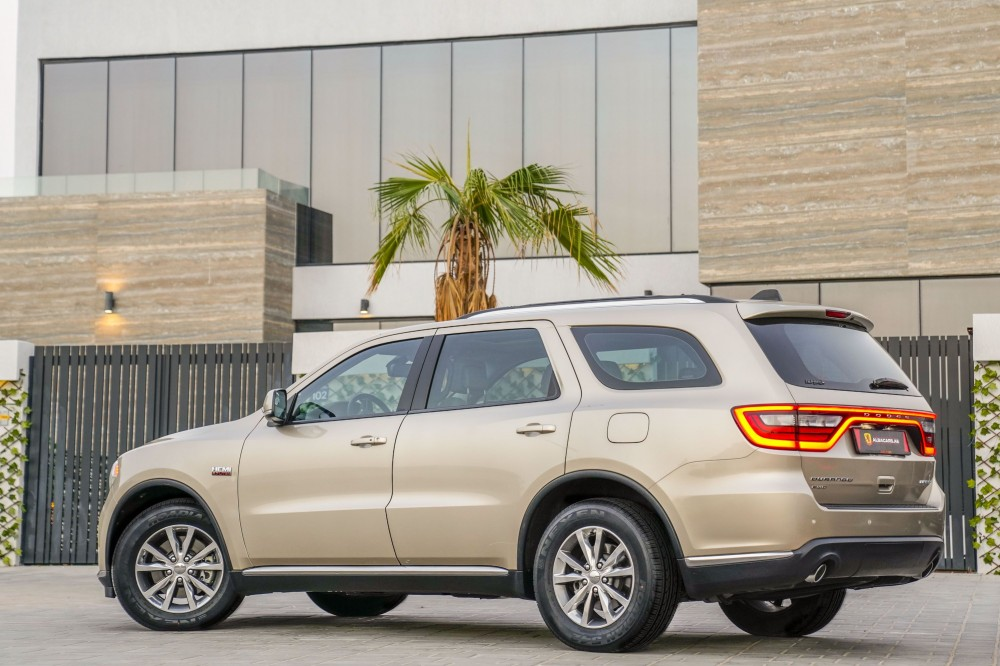 buy certified Dodge Durango Limited V8 without downpayment