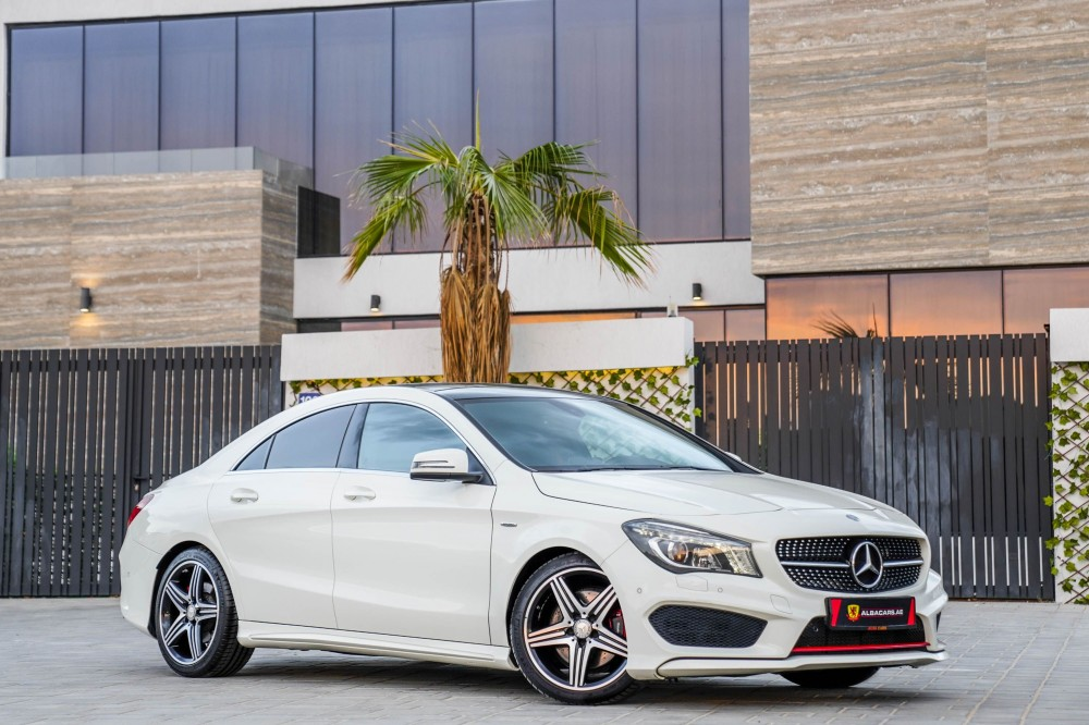 buy used Mercedes CLA250 with warranty