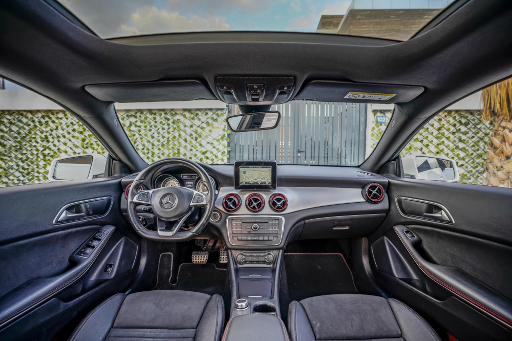 buy approved Mercedes CLA250 in Dubai