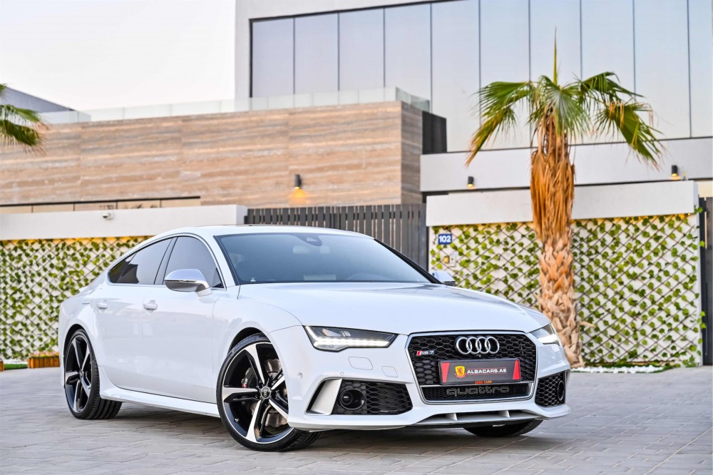 buy second hand Audi RS7 4.0L V8 without downpayment