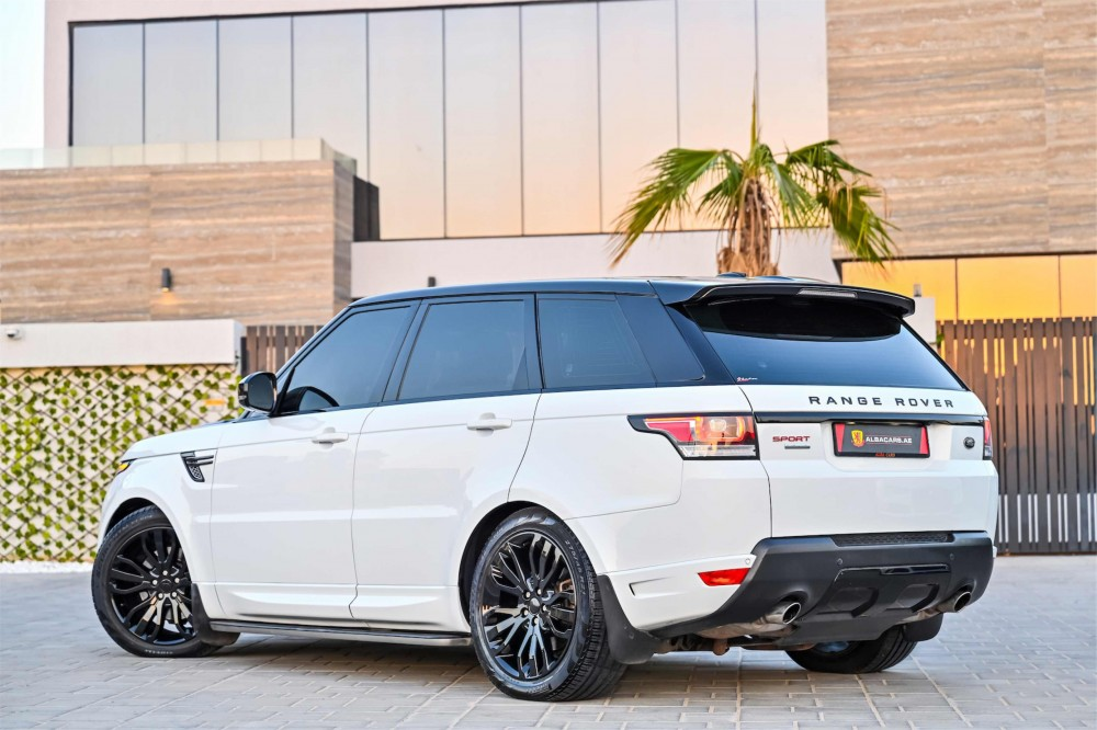 buy slightly used Range Rover Sport Autobiography Kit without downpayment