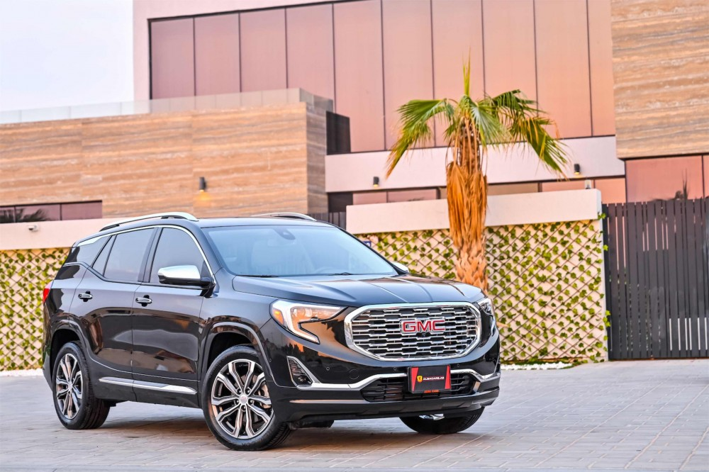 buy slightly used GMC Terrain Denali without downpayment