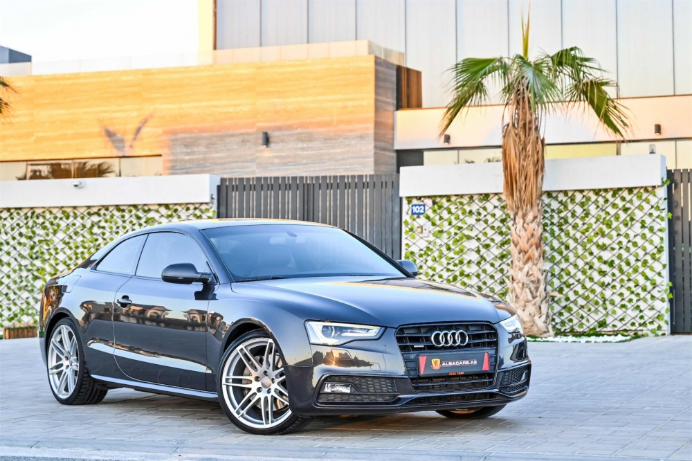 buy used Audi A5 S-Line with warranty