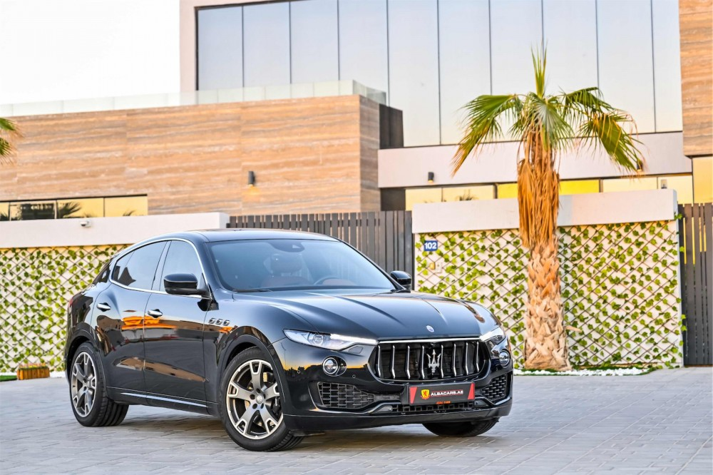 buy slightly used Maserati Levante S without downpayment
