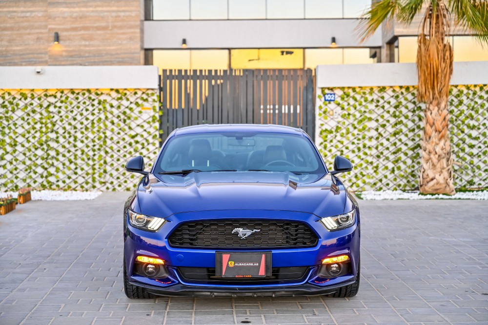 buy used Ford Mustang Ecoboost 2.3L with warranty