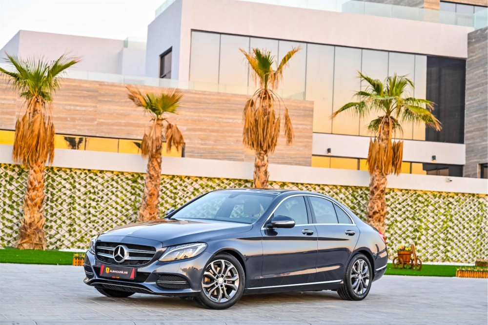 buy second hand Mercedes C200 in UAE