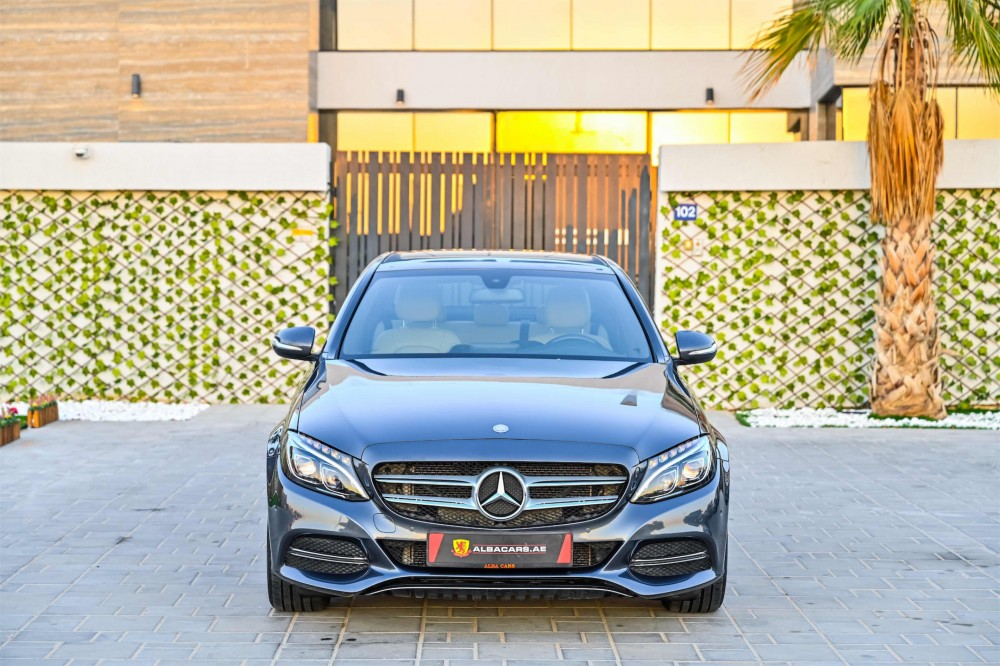 buy certified Mercedes C200 in Dubai