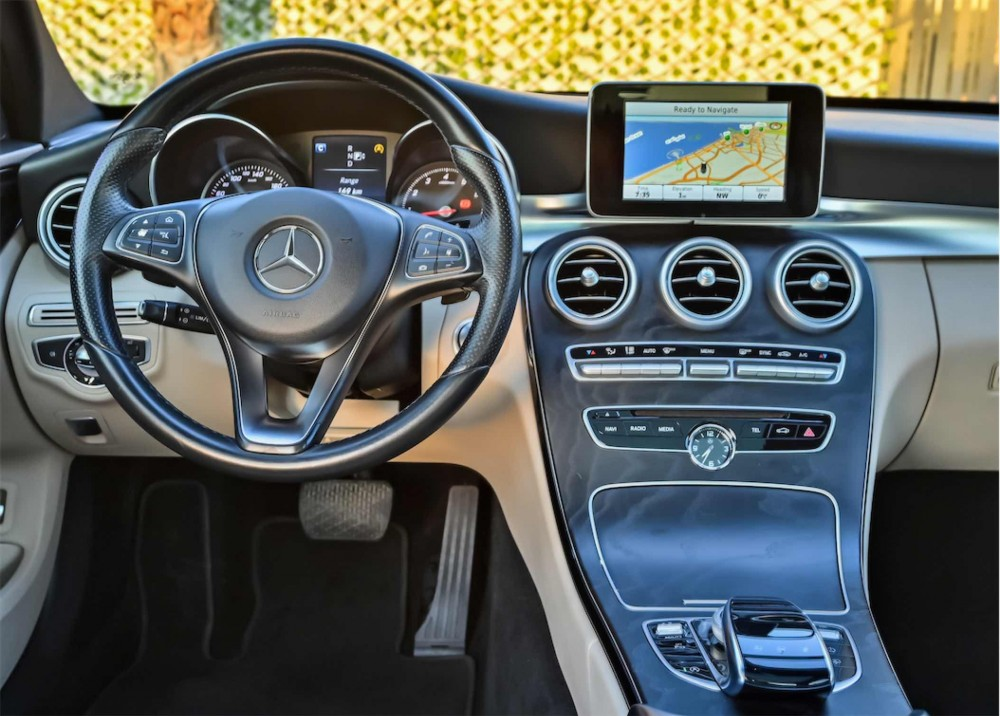 buy approved Mercedes C200 in UAE