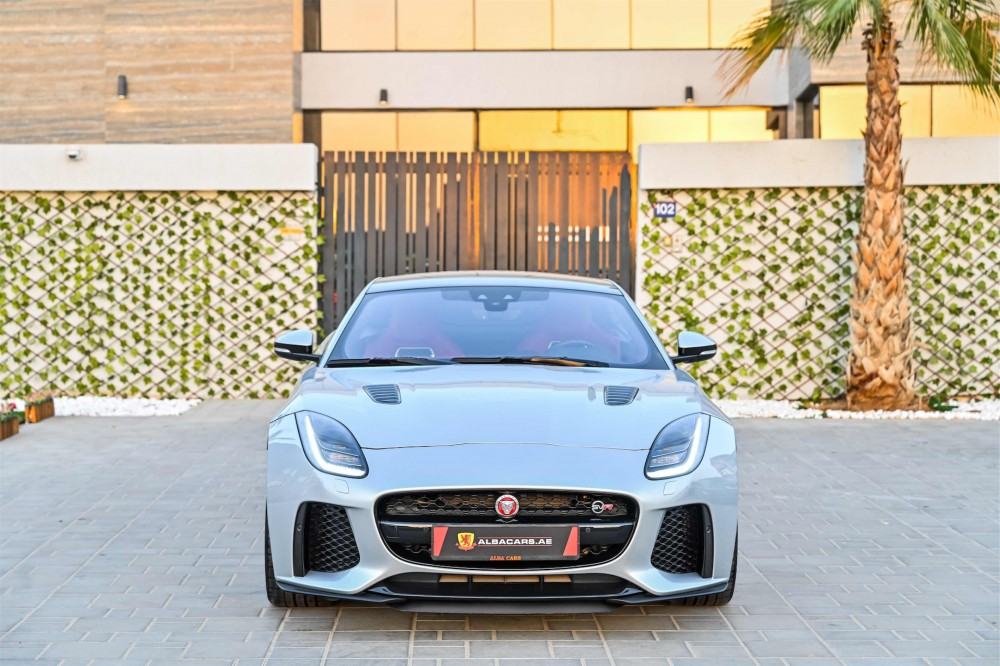 buy used BRAND NEW Jaguar F-Type SVR 5.0L V8 SC without downpayment