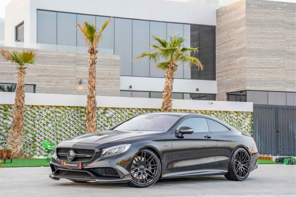 buy certified RARE Mercedes Brabus B850 V8 6.0 Biturbo in UAE