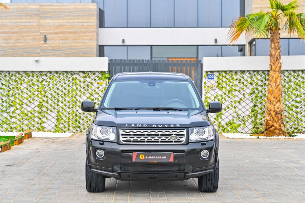 buy slightly used Land Rover LR2 in Dubai