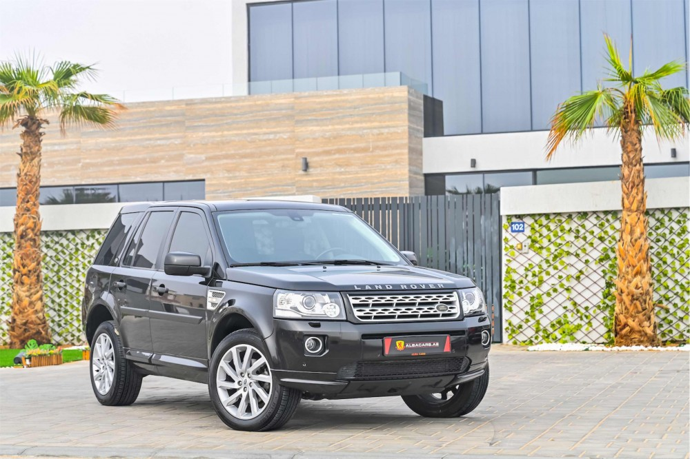 buy certified Land Rover LR2 with warranty