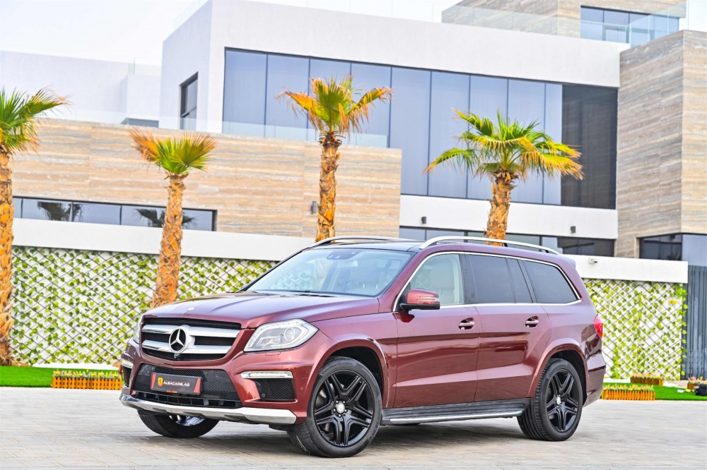 buy slightly used Mercedes GL500 AMG without downpayment