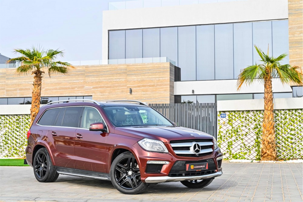 buy approved Mercedes GL500 AMG in Dubai