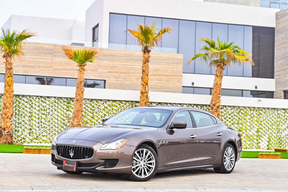 buy second hand Maserati Quattroporte with warranty