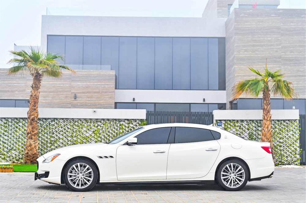 buy second hand Maserati Quattroporte without downpayment