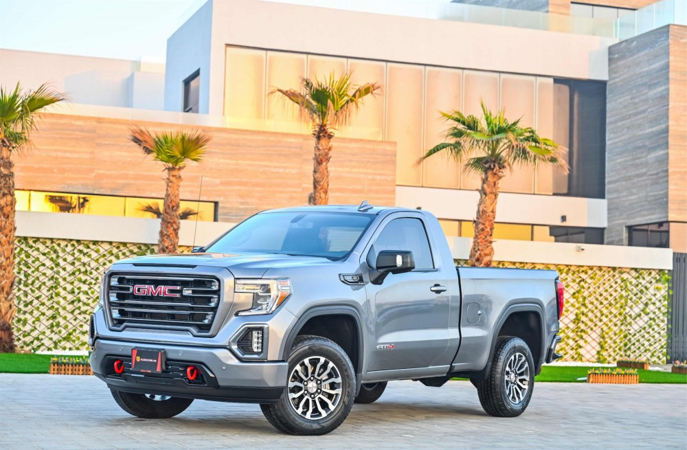 buy pre-owned GMC Sierra V8 AT4 with warranty