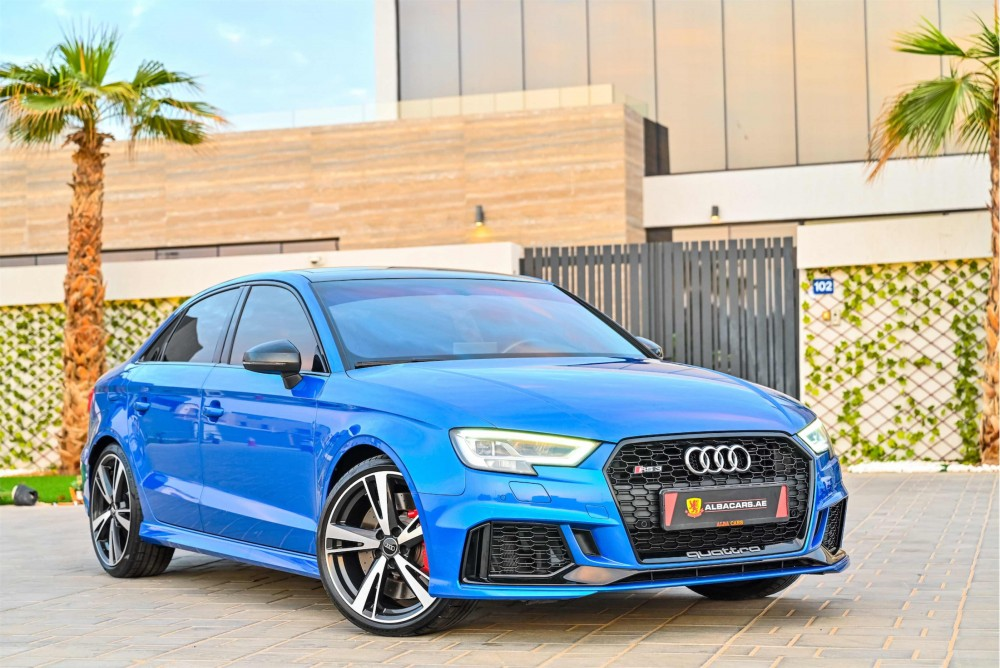 buy approved Audi RS3 without downpayment