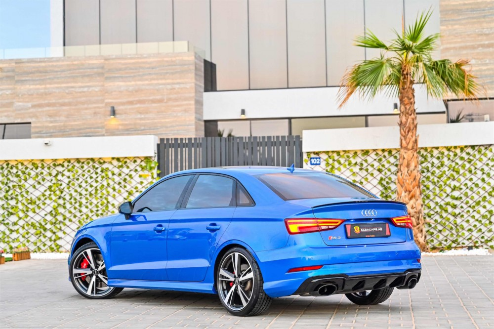 buy slightly used Audi RS3 without downpayment