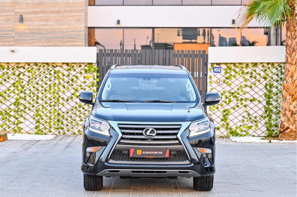 buy slightly used Lexus GX460 with warranty