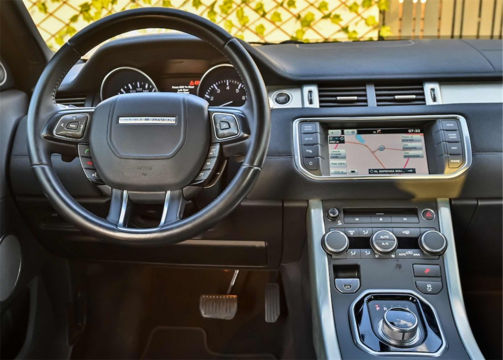 buy slightly used Range Rover Evoque without downpayment