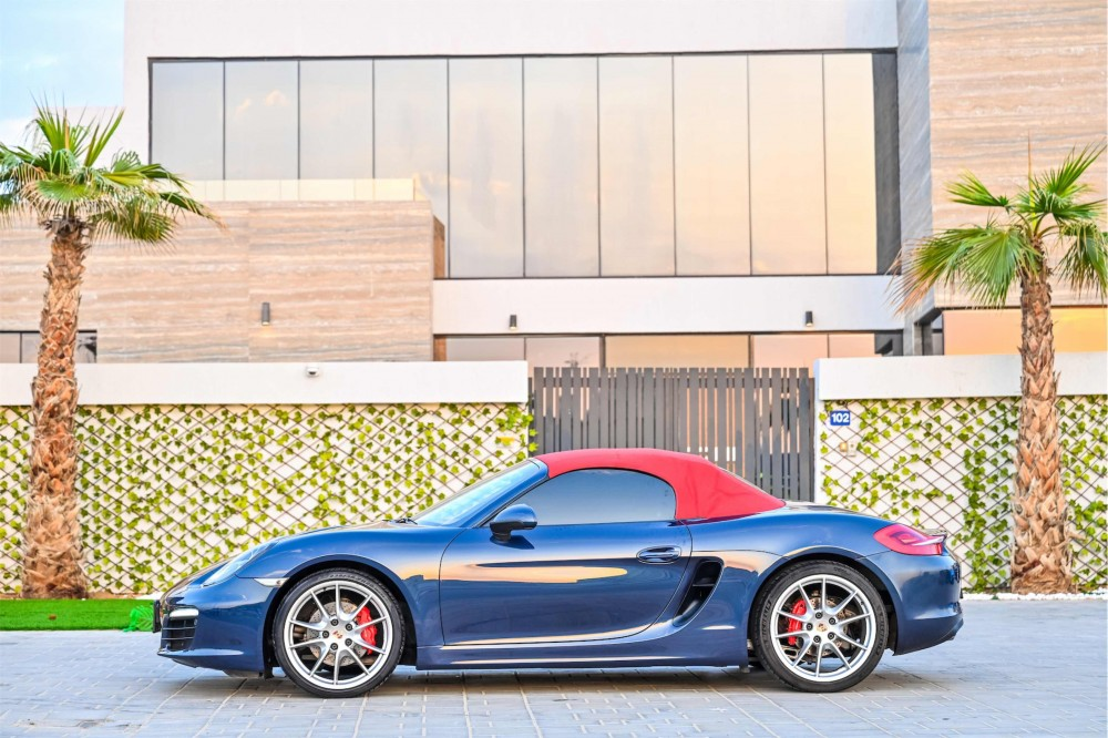 buy second hand Porsche Boxster S Convertible with warranty