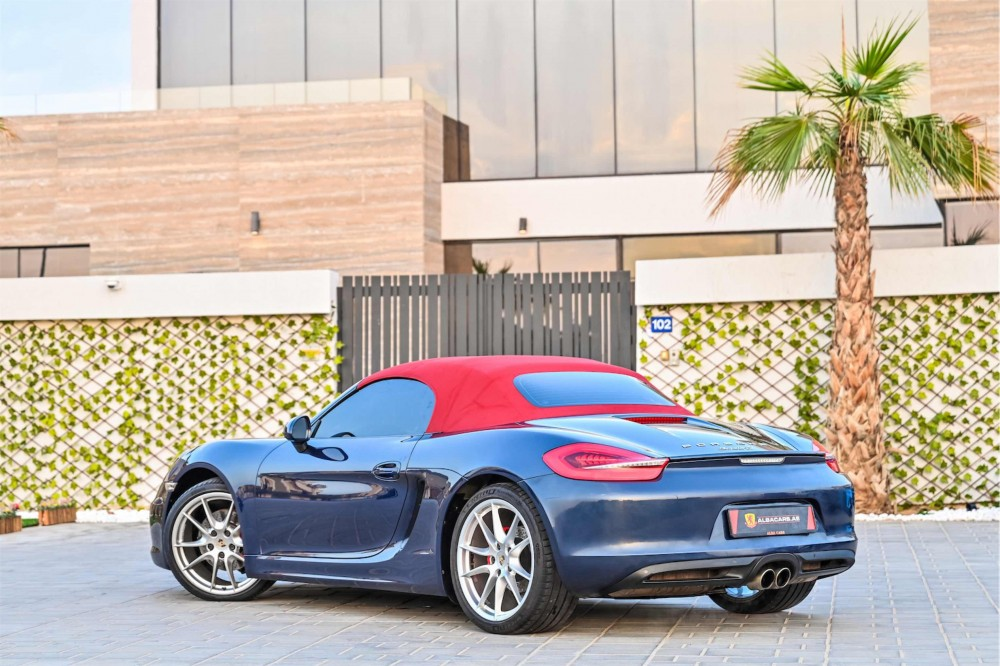 buy pre-owned Porsche Boxster S Convertible with warranty