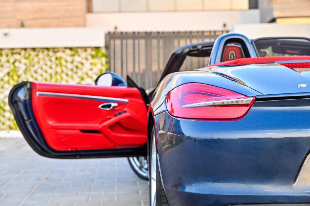 buy certified Porsche Boxster S Convertible with warranty