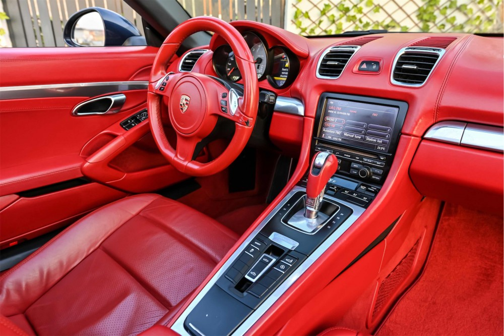 buy used Porsche Boxster S Convertible with warranty