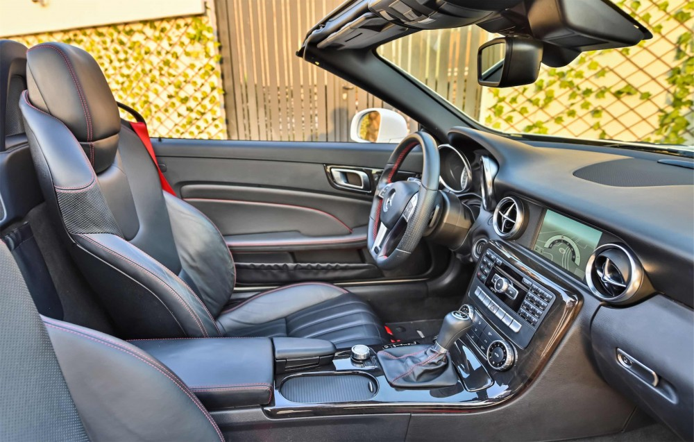 buy certified Mercedes SLK200 AMG Convertible with warranty